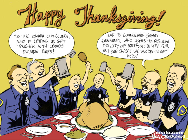 thanksgiving omaha police