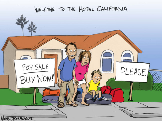 hotel california home prices