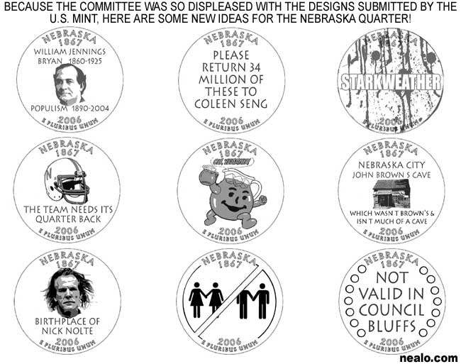 nebraska quarter nick nolte coleen seng starkweather nebraska city iowa gay kool aid football william jennings bryan