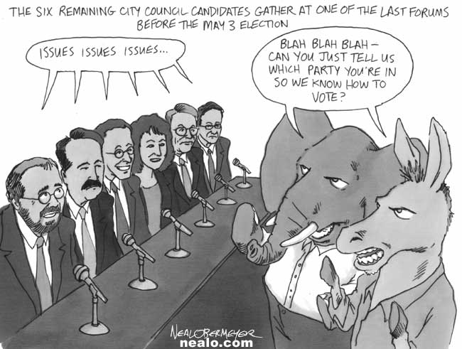 city council democrat republican donkey elephant real voters guide