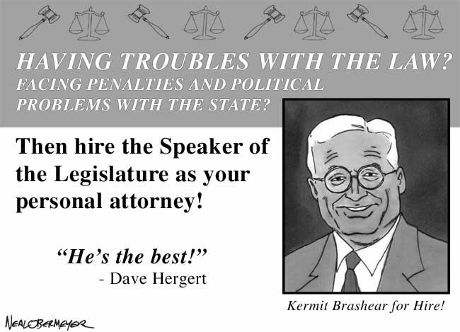 kermit brashear speaker legislature