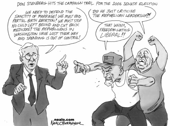 don stenberg republican liberal
