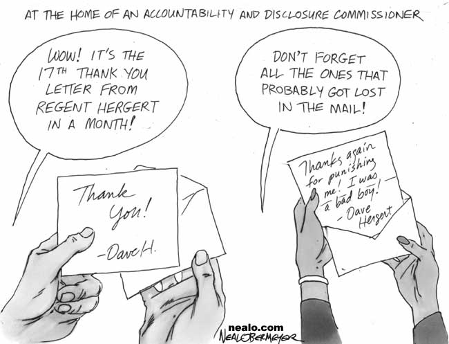 dave hergert accountability disclosure commission