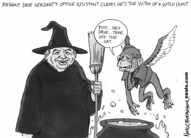 dave hergert monkey witch hunt