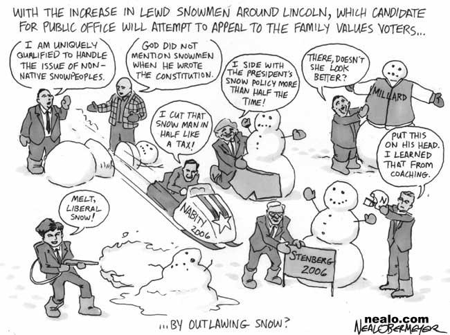david kramer dave heineman tom osborne jeff fortenberry dave nabity ben nelson pete ricketts snow men