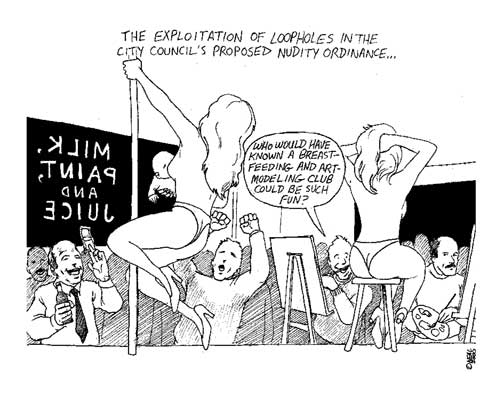 nealo.com - cartoons by neal obermeyer  Blog Archive  The nudity ...