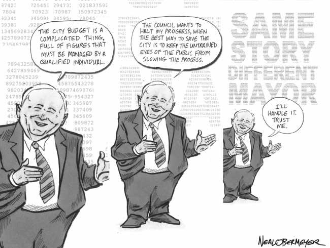 Jerry Sanders Mayor city council
