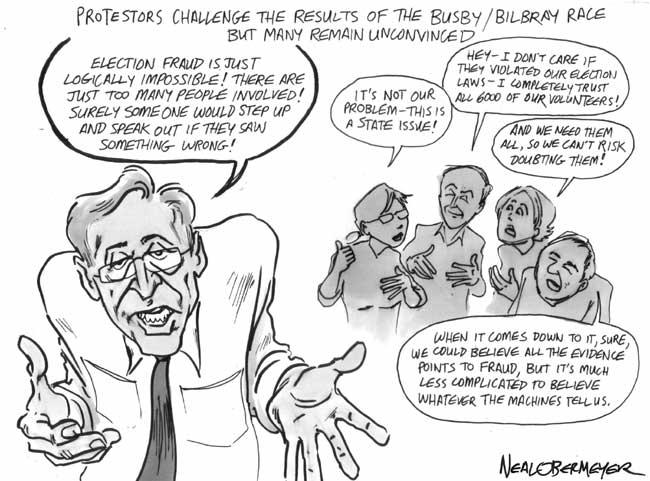 brian bilbray francine busby election fraud